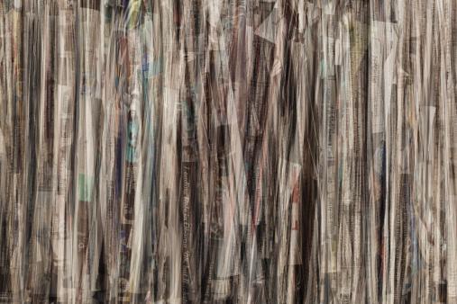 Digital Composite「Bundle of Newspapers Closeup」:スマホ壁紙(9)