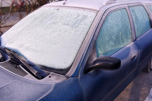 Avenue「Frost covered windscreen, close-up」:スマホ壁紙(6)