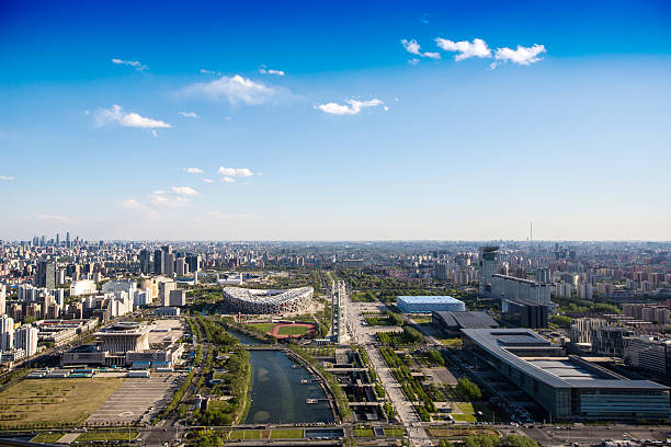 Urban architecture in Beijing:スマホ壁紙(壁紙.com)