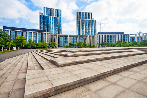 Town Square「Urban architecture of Wuxi City,Jiangsu Province,China」:スマホ壁紙(5)