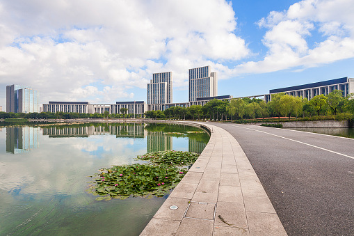 Water Lily「Urban architecture of Wuxi City,Jiangsu Province,China」:スマホ壁紙(17)