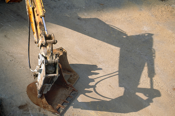 Limb - Body Part「Hydraulic excavator arm fitted with breaker attachment.」:写真・画像(11)[壁紙.com]