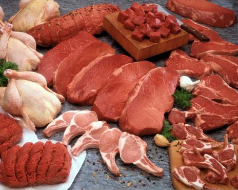 Choosing「Generic raw meat」:スマホ壁紙(4)