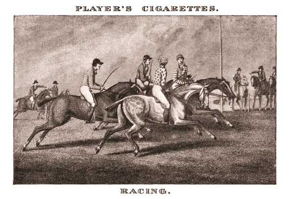 Cigarette Card「Racing-1」:写真・画像(1)[壁紙.com]