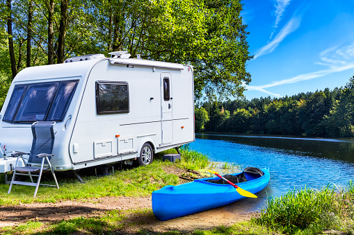 Nautical Vessel「Vacations at Krutynia river in Masuria land, Poland」:スマホ壁紙(7)