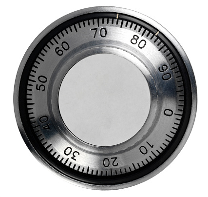 Combination Lock「Isolated  Combination Safe Dial」:スマホ壁紙(15)
