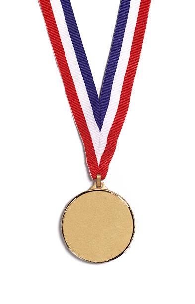 A medal on a striped ribbon, on a white background:スマホ壁紙(壁紙.com)