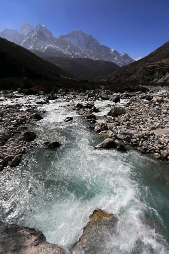 Khumbu「The Imja Khola river valley, Dingboche Pass」:スマホ壁紙(19)