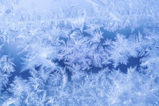 Frozen「Ice crystals on window」:スマホ壁紙(15)