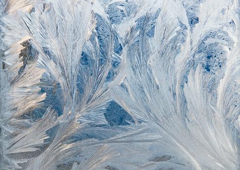 Frost「Ice crystals on window」:スマホ壁紙(8)