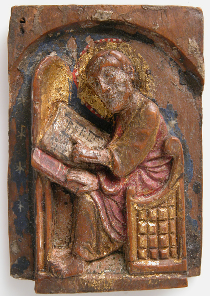 White Background「Miniature Relief Of A Saint Luke At His Writing Table」:写真・画像(19)[壁紙.com]