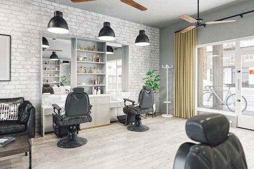 White Brick Wall「Barber Shop」:スマホ壁紙(14)