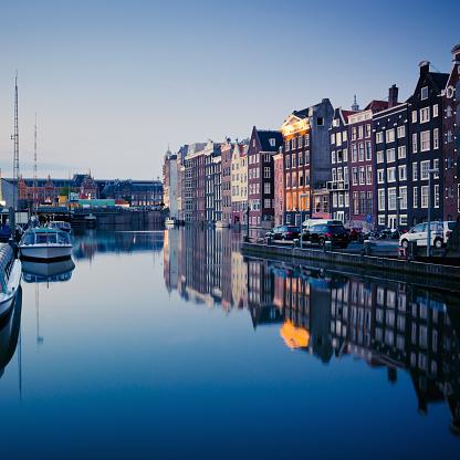 Amsterdam「Amsterdam Twilight Scene」:スマホ壁紙(14)