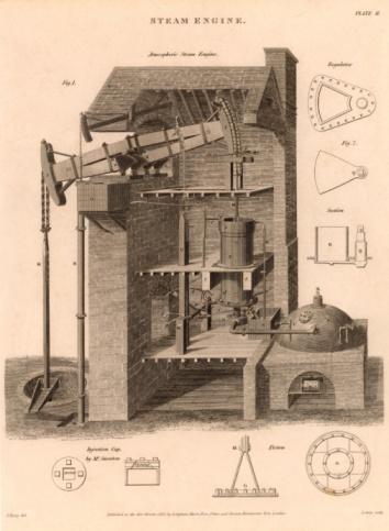 SL「Diagram of steam engine」:スマホ壁紙(11)