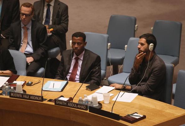 Ghaith Abdul-Ahad「Security Council Holds Open Debate On Protection Of Journalist」:写真・画像(0)[壁紙.com]