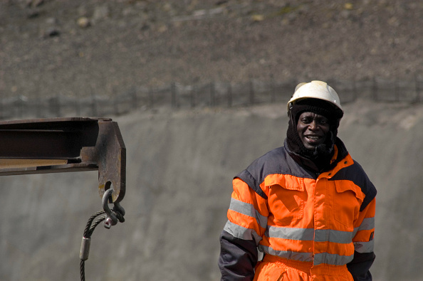 Mid Adult「There are over 1.500 foreign contract workers employed in the construction of the Karahnjukar dam in Iceland. This makes the area the fifth largest populated one in Iceland.」:写真・画像(12)[壁紙.com]