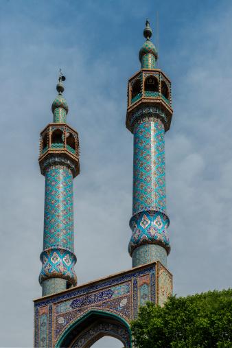Iranian Culture「Mosque details at Yazd, Iran」:スマホ壁紙(2)