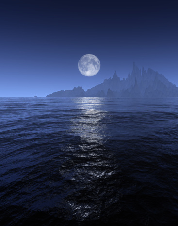 月の光「full moon」:スマホ壁紙(0)