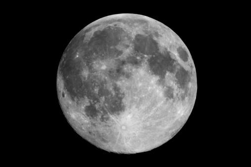 月「満月」:スマホ壁紙(19)