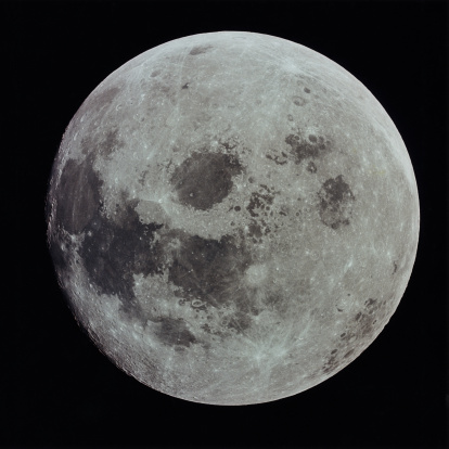 月「Full moon」:スマホ壁紙(19)