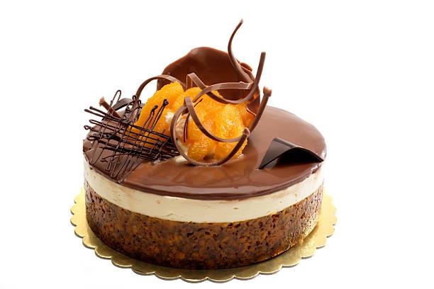 chocolate and orange cake:スマホ壁紙(壁紙.com)