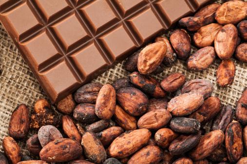 チョコレート「ココア豆とチョコレート」:スマホ壁紙(14)
