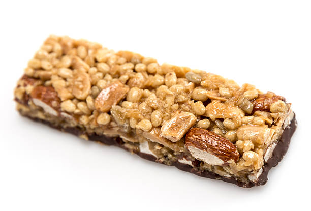 Chocolate, almonds, and peanuts energy bar:スマホ壁紙(壁紙.com)