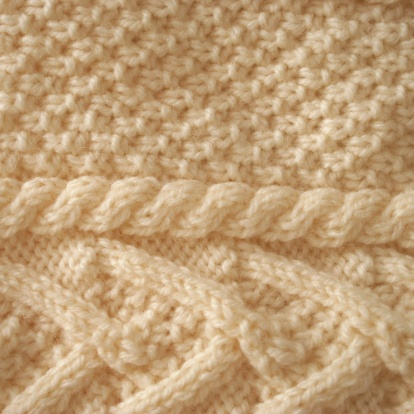 Sweater「Aran Knit Background」:スマホ壁紙(10)