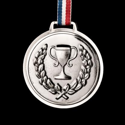 オリンピック「オリンピックメダルで分離黒色:銀」:スマホ壁紙(14)