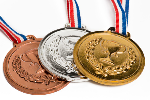 Trophy - Award「. medals isolated on white」:スマホ壁紙(12)
