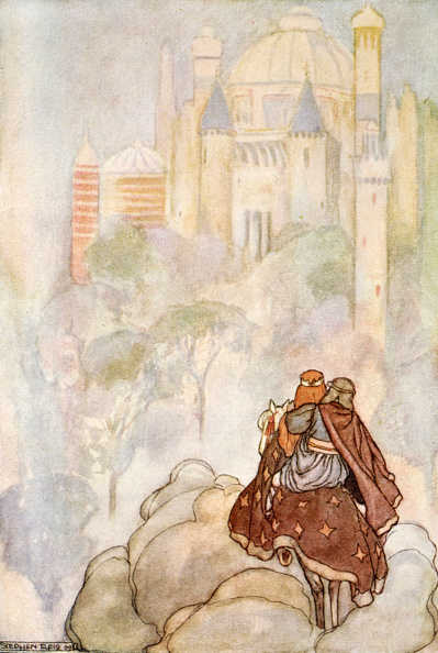 Mythology「They Rode Up To A Stately Palace' circa 1910」:写真・画像(19)[壁紙.com]