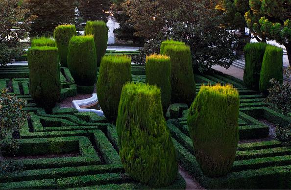 Madrid Royal Palace「Jardines De Sabatini In Madrid」:写真・画像(2)[壁紙.com]