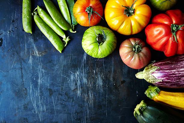 Fresh organic vegetables:スマホ壁紙(壁紙.com)