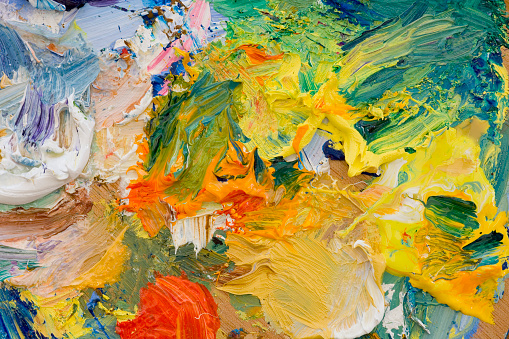 Masterpiece「アーティストの油絵パレット」:スマホ壁紙(11)