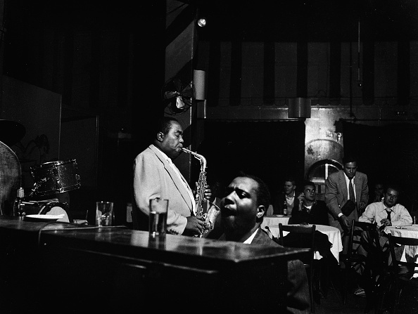 ジャズ「Charlie Parker and Thelonious Monk」:写真・画像(7)[壁紙.com]
