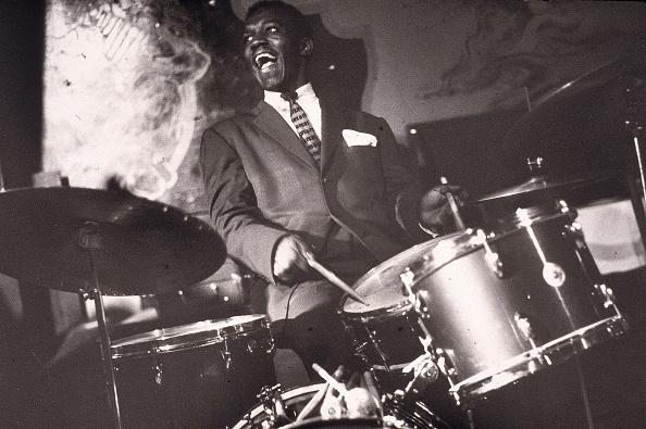 Jazz Music「Drummer Art Blakey Performs In Concert」:写真・画像(18)[壁紙.com]