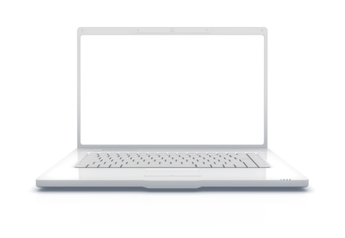 Work Tool「White Laptop XXXL」:スマホ壁紙(19)