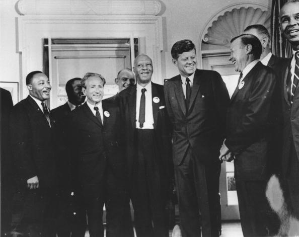 Human Rights「Civil Rights Leaders Meet With John F. Kennedy」:写真・画像(2)[壁紙.com]