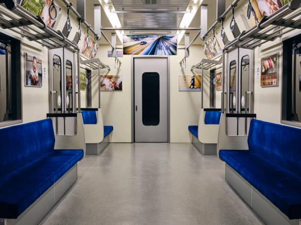 Empty Japanese Subway Train:スマホ壁紙(壁紙.com)