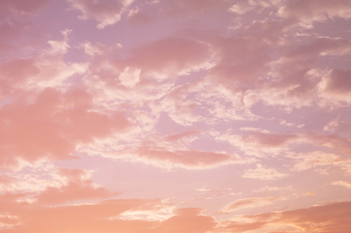 Pastel「Sunset with pink clouds」:スマホ壁紙(11)