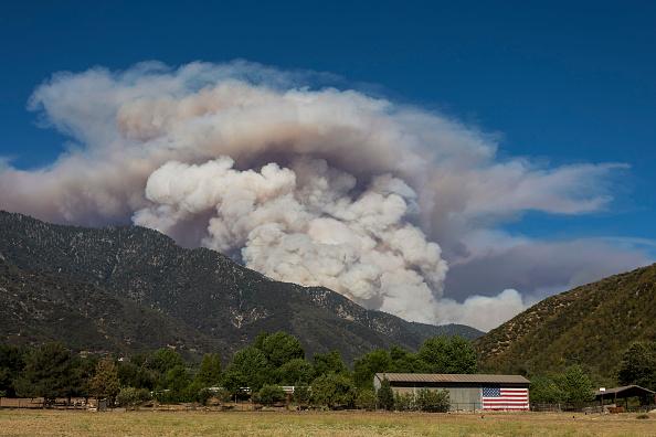 San Bernardino National Forest「Apple Fire In Southern California Forces Evacuations」:写真・画像(16)[壁紙.com]