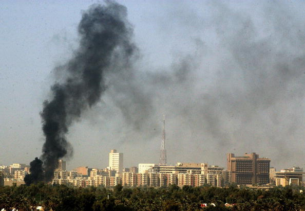 Green Zone - Baghdad「Car Bomb Explodes At Green Zone Checkpoint」:写真・画像(2)[壁紙.com]