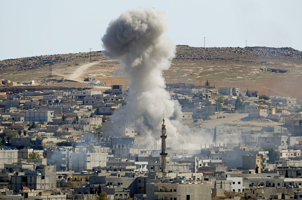 USA「Syrian Kurds Battle IS To Retain Control Of Kobani」:写真・画像(11)[壁紙.com]