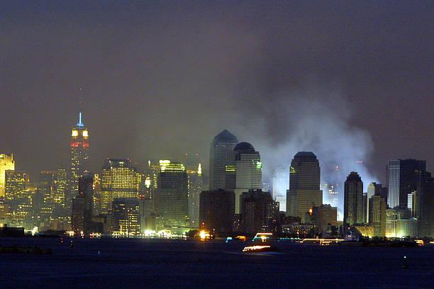 New York Skyline after World Trade Center Disaster:ニュース(壁紙.com)
