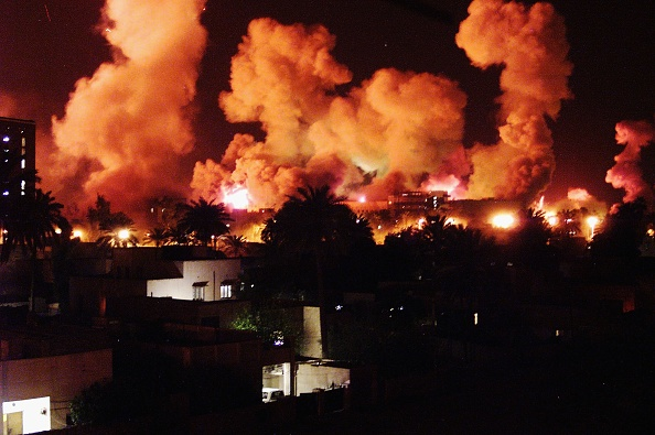 Exploding「(FILE) The Third Anniversary Of The Fall Of Baghdad」:写真・画像(12)[壁紙.com]