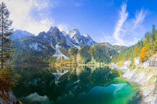 Dachstein Mountains「Gosausee - Nature Reserve Austria」:スマホ壁紙(12)
