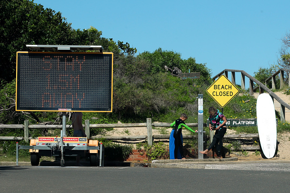 Sydney「Manly Beach Closed After Crowds Gathered Despite Social Distancing Rules」:写真・画像(17)[壁紙.com]