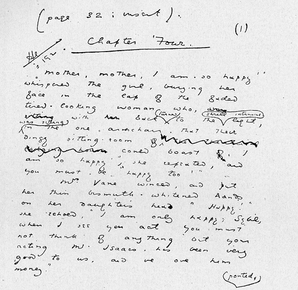 Manuscript「Oscar Wilde - handwritten manuscript of the Anglo-Irish playwright, novelist and poet's novel,'The Picture of Dorian Gray'. A page from Chapter IV of the revised edition, 1891.」:写真・画像(5)[壁紙.com]