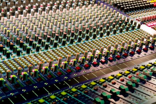 Rock Music「Live music front of house soundboard」:スマホ壁紙(8)