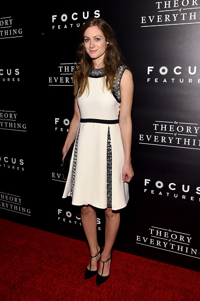 """Larry Busacca「""""The Theory Of Everything"""" New York Premiere - Arrivals」:写真・画像(10)[壁紙.com]"""
